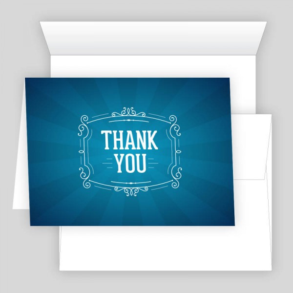 thank you card 002 print icon nyc